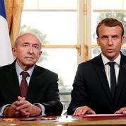 Policiers agressés à Champigny : pourquoi Macron et Collomb ont tenu à réagir vite et fort