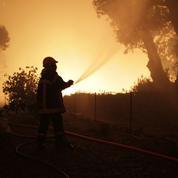 La tempête Eleanor attise les incendies en Corse