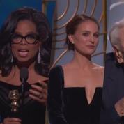 Le discours d'Oprah, le tacle de Natalie Portman... les meilleurs moments des Golden Globes 2018