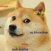 Le dogecoin, la cryptomonnaie parodique qui vaut plus d'un milliard