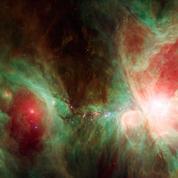 Découvrez la somptueuse nébuleuse d'Orion, où naissent les étoiles, en 3D
