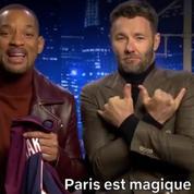 Will Smith avec le maillot du PSG : «Paris est magique !»
