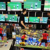 Le Mondial de foot, ballon d'oxygène pour le marché des téléviseurs