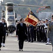 Dans ses vœux aux Armées, Macron annonce un effort budgétaire «inédit et incomparable»