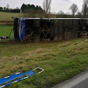 Gers: 29 blessés dans un accident de car scolaire