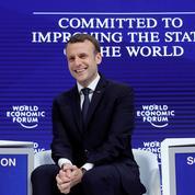 Comment Macron a obtenu une visibilité maximale à Davos