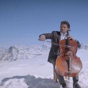 Gautier Capuçon prend de l'altitude pour son clip Le Cygne de Saint-Saëns