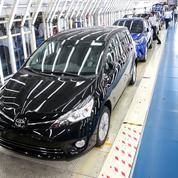 Toyota glisse au troisième rang mondial