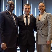 Au Sénégal, Macron veut mobiliser pour l'éducation