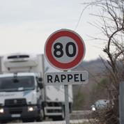 La limitation de vitesse à 80km/h reste mal comprise en zone rurale
