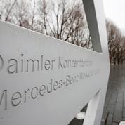 Émissions polluantes: Daimler aurait utilisé des logiciels pour passer des tests