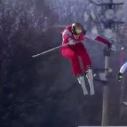 La terrible chute d'un skieur canadien qui s'envole sur une bosse à Pyeongchang