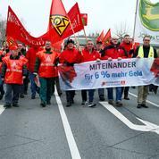 Salaires : les syndicats allemands placent la barre haut dans leurs négociations