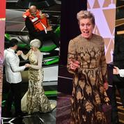 Entre somnifères et coups d'éclats, ces moments qui ont fait les Oscars 2018