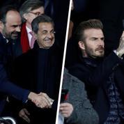 PSG-Real Madrid : Beckham, Hollande et l'émir du Qatar, corbeille bien remplie au Parc