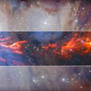 Les astronomes découvrent les «dentelles cosmiques» de la nébuleuse d'Orion