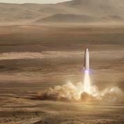 SpaceX : le vaisseau martien d'Elon Musk pourrait voler dès 2019