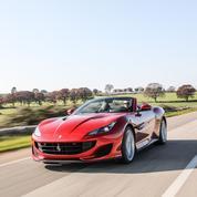 Ferrari, plein soleil en Portofino