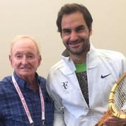 Le bel hommage de Rod Laver à Roger Federer