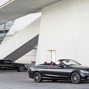 Mercedes Classe C Coupé et Cabriolet, une débauche de technologies