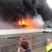 Pas de quart de finale pour les fans toulonnais après un incendie à l'aéroport de Londres