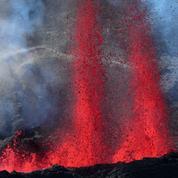 Première éruption volcanique de l'année sur l'île de La Réunion