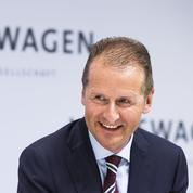 Herbert Diess remplace Matthias Müller à la tête du groupe Volkswagen