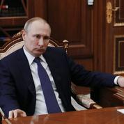 Frappes en Syrie : Poutine condamne «une violation du droit international»