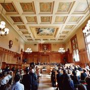 Les adieux à la 17e chambre du tribunal de grande instance de Paris