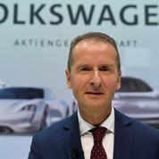Herbert Diess, un gestionnaire à poigne au volant du groupe VW