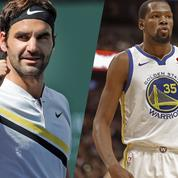 Federer et Durant parmi les 100 personnalités les plus influentes 2018 du Time Magazine
