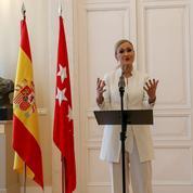 La présidente de la région de Madrid tombe pour vol à l'étalage