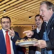 Gérard Dépardieuprête son nom à une marque de produits alimentaires en Russie