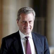 Günther Oettinger : «Être compétitif face à Pékin et Washington»
