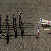 L'armée française rend hommage à la Royal Air Force, à l'occasion de son centième anniversaire