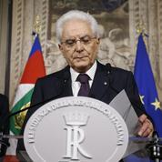 Sergio Mattarella se pose en arbitre de la crise italienne