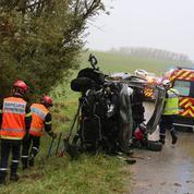 Moins de morts sur les routes en 2017, mais plus d'accidents