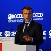 Emmanuel Macron prône une réforme de l'OMC
