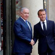 Iran: Nétanyahou veut attirer Macron dans sa croisade