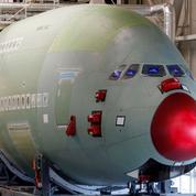 Deux Airbus A380 vendus en pièces détachées faute de repreneur