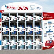 Butagaz lance des distributeurs connectés de bouteilles