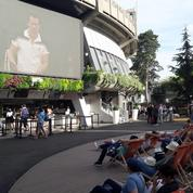 Jeu set et match pour la projection de L 'Empire de la perfection à Roland Garros