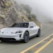 Au volant de la Porsche électrique