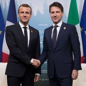 Malgré la crise diplomatique, la rencontre entre Macron et Conte aura bien lieu