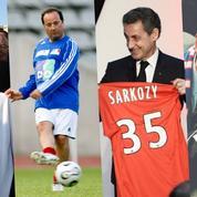 Macron, Sarkozy, Hollande... le match des présidents-supporters