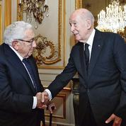 Quand Giscard retrouve Kissinger pour lui décerner le prix Tocqueville