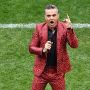 Mondial 2018: Robbie Williams tente de justifier son doigt d'honneur