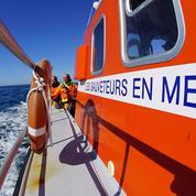 L'appel à l'aide des sauveteurs en mer