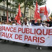 Manifestation contre la fermeture d'hôpitaux et de maternités