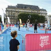 Paris fête l'Olympisme devant 450.000 spectateurs